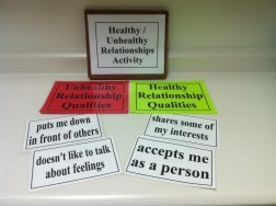 Healthy vs. Unhealthy Sexual Relationship Activity